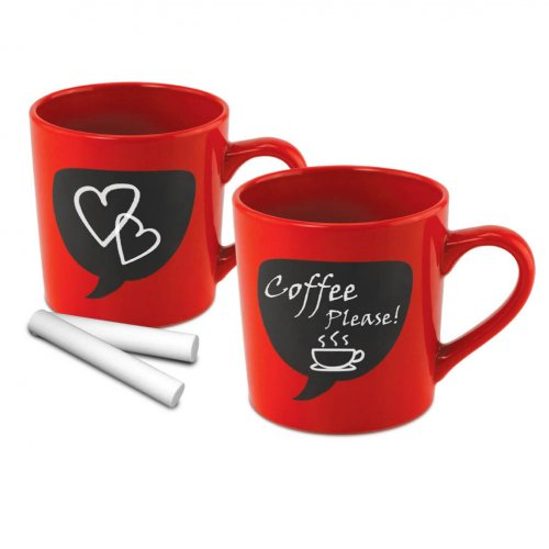 Chalk Thought Coffee Mugs