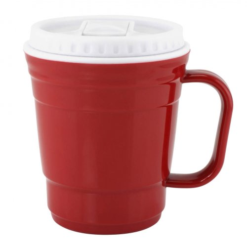 12 Oz Red Coffee Cup