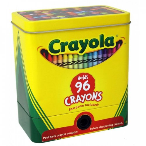 Crayola 2 Part Sharpener Tin