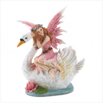 Fairy Riding Swan Bank