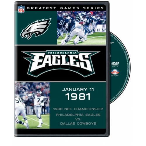 Nfl Greatest Games Series: 1980 Philadelphia Eagles Vs. Dallas C