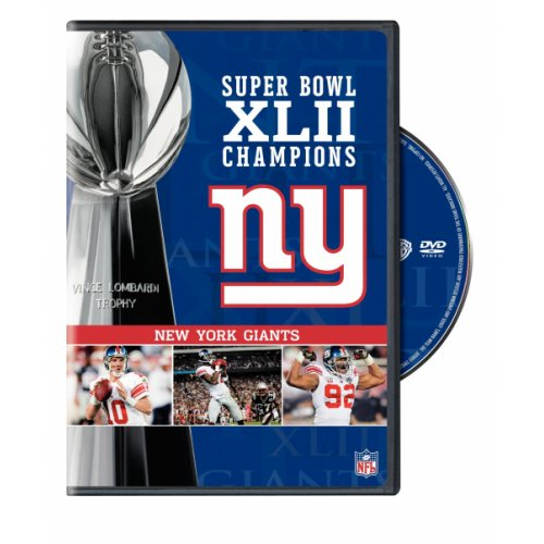 Nfl Super Bowl Xlii New York Giants Championship