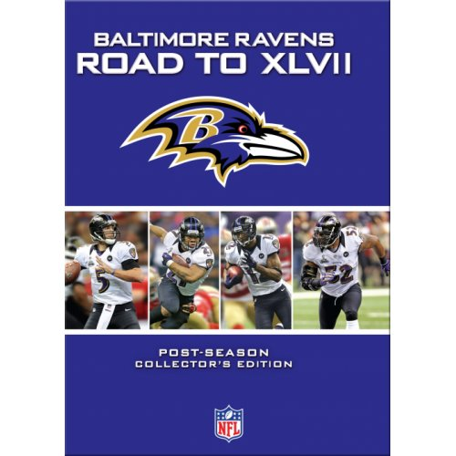 Nfl Baltimore Ravens Road To The Super Bowl [dvd]