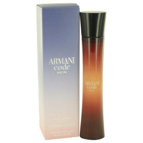 ea33d27228 Armani Code Satin By Giorgio Armani Eau De Parfum Spray 2.5 Oz