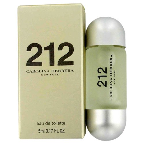 212 By Carolina Herrera Mini Edt .17 Oz