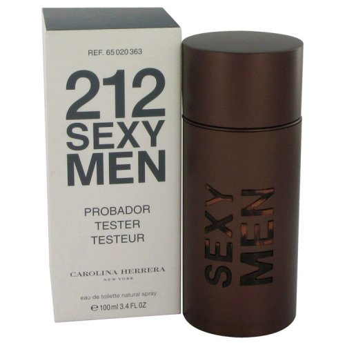 212 Sexy By Carolina Herrera Eau De Toilette Spray (tester) 3.3