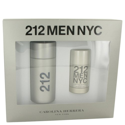 212 By Carolina Herrera Gift Set 3.4 Oz Eau De Toilette Spray +