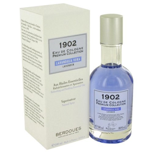 1902 Lavender By Berdoues Eau De Cologne Spray 3.3 Oz