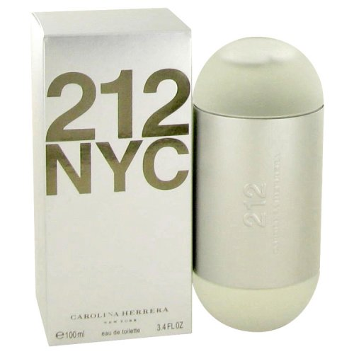212 By Carolina Herrera Eau De Toilette Spray (new Packaging) 3.