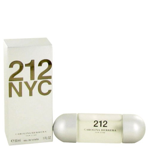212 By Carolina Herrera Eau De Toilette Spray (new Packaging) 1