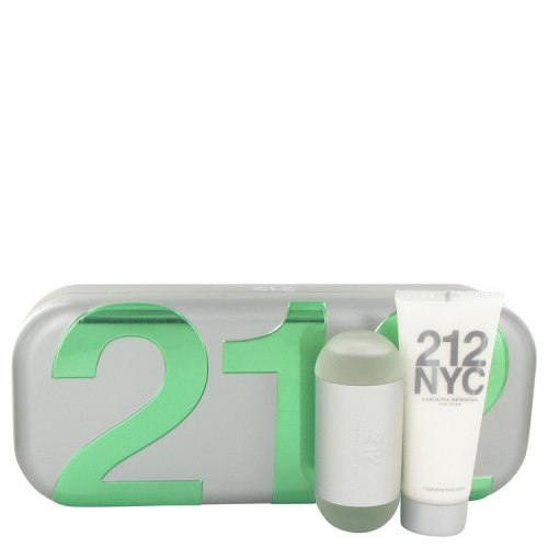 212 By Carolina Herrera Gift Set 2 Oz Eau De Toilette Spray + 3.