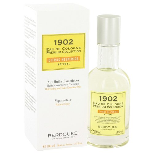 1902 Natural By Berdoues Eau De Cologne Spray (unisex) 3.3 Oz
