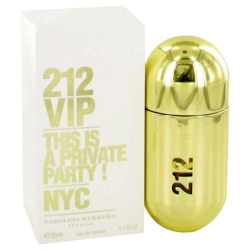 212 Vip By Carolina Herrera Eau De Parfum Spray 1.7 Oz