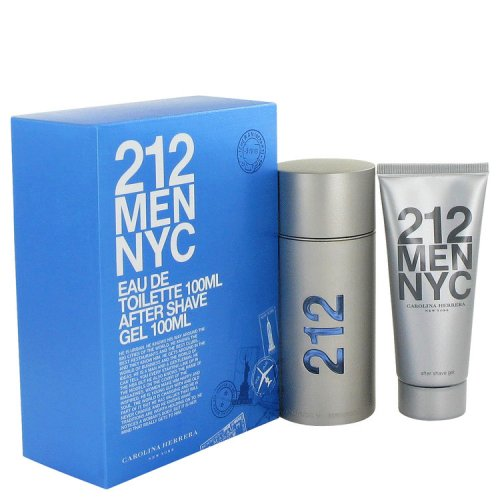 212 By Carolina Herrera Gift Set 3.3 Oz Eau De Toilette Spray +