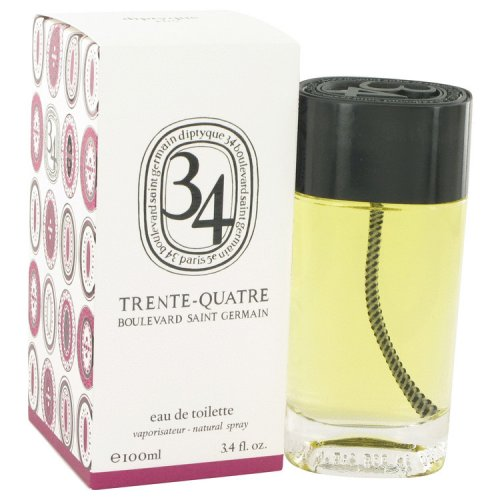 34 Boulevard Saint Germain By Diptyque Eau De Toilette Spray (un