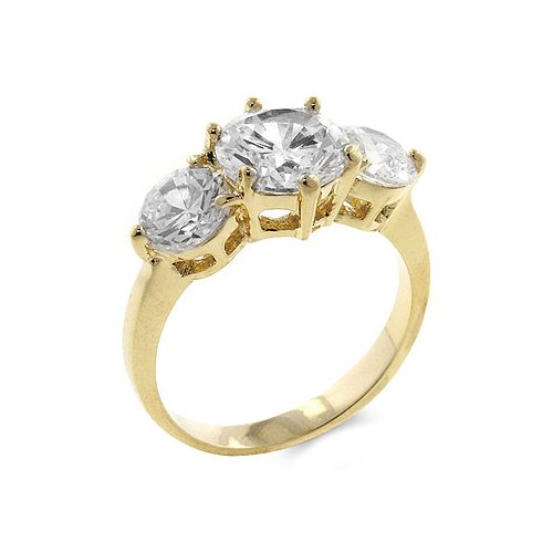 3-stone Engagement Ring (size: 05)