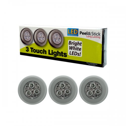3 Pack Stick Up Led Peel And Stick Lights
