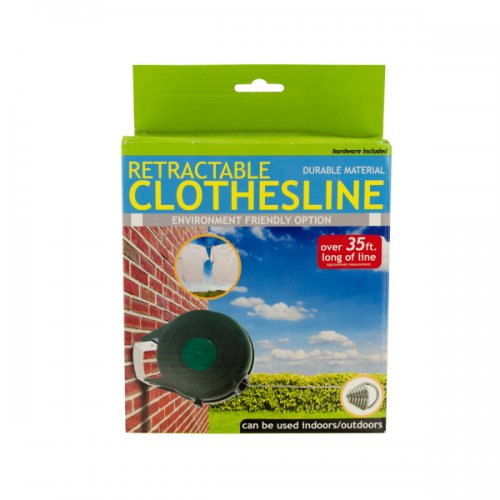 Indoor Outdoor Retractable Clothesline