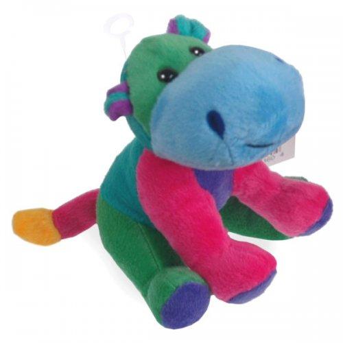 Plush Hippo Critter Piller Pal