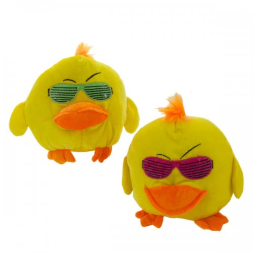 Plush Toy Duck With Sunglasses