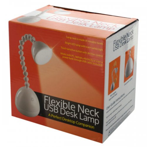 Flexible Neck Usb Desk Lamp