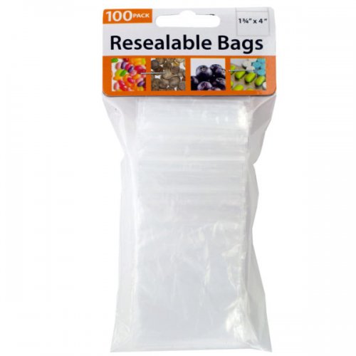 Small Resealable Storage Bags