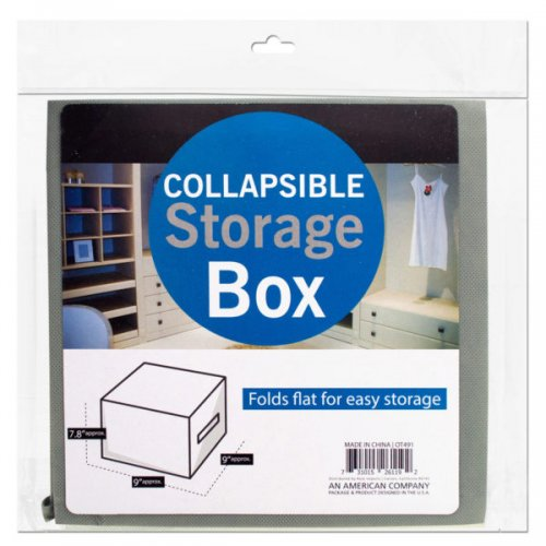 Small Square Collapsible Storage Box