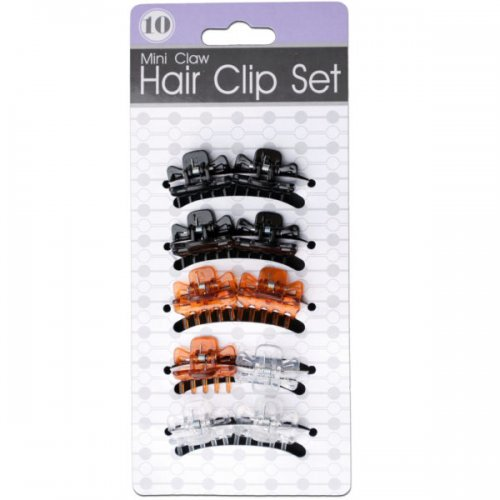 Mini Claw Hair Clip Set