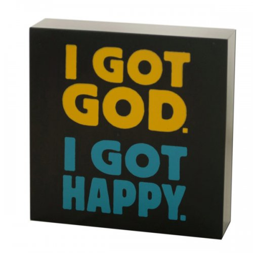 Got God Mini Box Print Wall Art