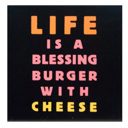 Blessing Burger Mini Box Print Wall Art