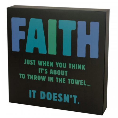 Everlasting Faith Box Print Wall Art