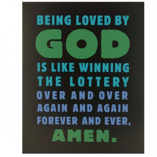 Loved By God Box Print Wall Art