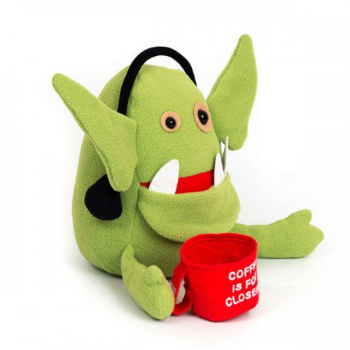Sales Goblin Inspirational Plush Creature