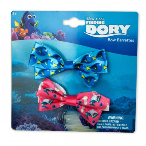 H.e.r Finding Dory Hair Bows Set Of 2