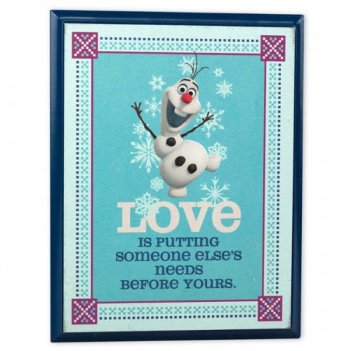 Disney's Frozen Plaque Olaf