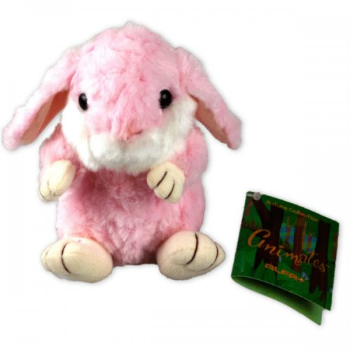 Alfaplus Pink Bean Bag Rabbit Plush Toy