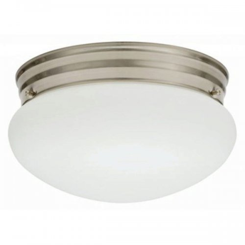 Lithonia Lighting Mushroom Lamp Nickle Finish