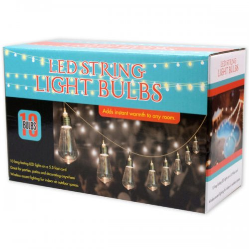 String Led Light Bulbs