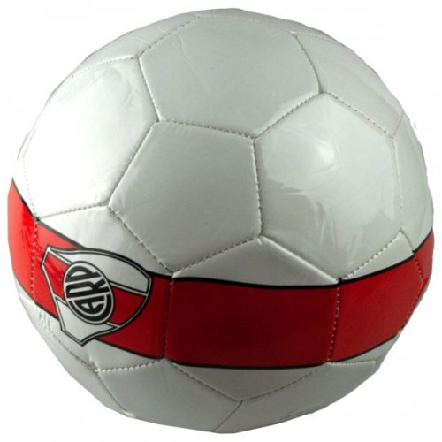 Size 5 Argentina River Plate Carp Red & White Soccer Bal
