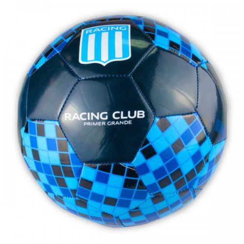 Size 5 Argentina Racing Club Blue And Black Soccer Ball
