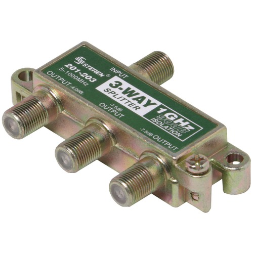 Steren 1ghz 90db Splitter (3 Way)