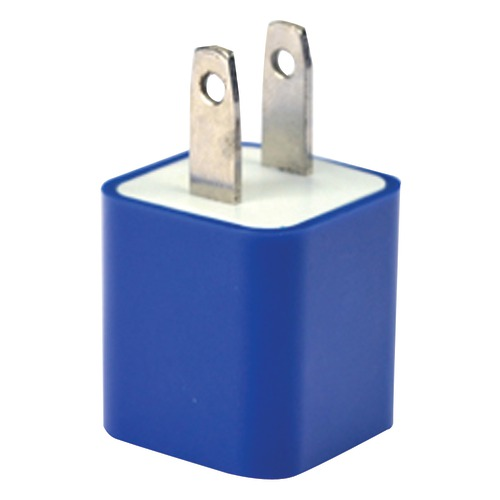 Iessentials Iphone And Ipod And Smartphone Usb Home Charger (blu