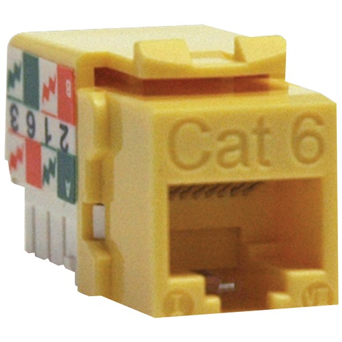 Tripp Lite Cat-6 And Cat-5e 110-style Punch-down Keystone Jack (