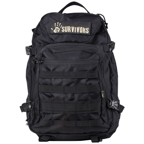 12 Survivors Tactical Backpack (black)