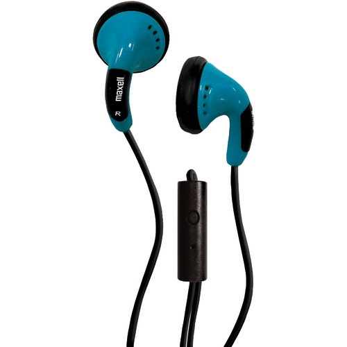 Maxell Color Buds With Microphone (blue)