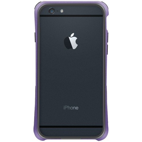 "Macally Iphone 6 4.7"" Flexible Frame Case (metallic Purple)"