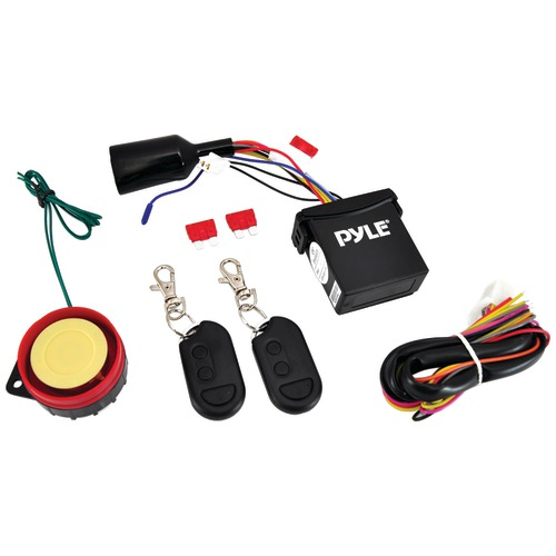 Pyle Pro Watch Dog Motorcycle Vehicle Alarm Security System With
