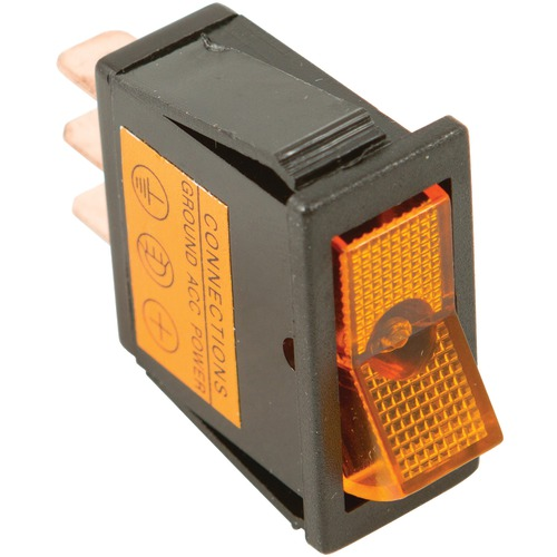 Battery Doctor On And Off Amber Illuminated 20-amp Rocker For 12