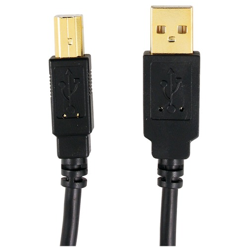 Axis A-male To B-male Usb 2.0 Cable (10ft)