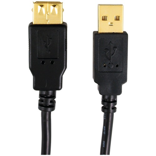 Axis A-male To A-female Usb 2.0 Cable, 6ft